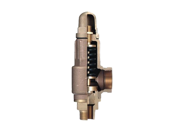 AL3 Bronze Safety Valve-Different Inlet & Outlet Dia.